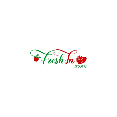 Logo for fresh food delivery