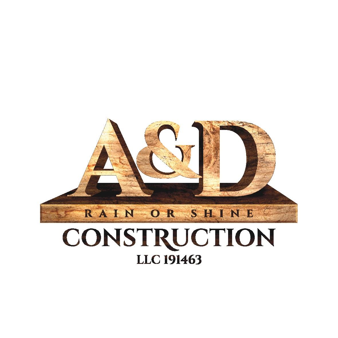 A&D Rain Or Shine Construction LLC 191463