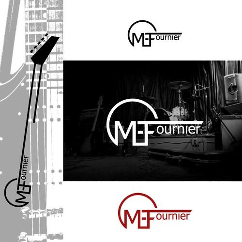 Logo design concept for ME. Fournier