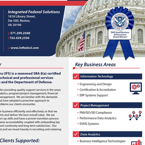 Single page for federal marketplace.