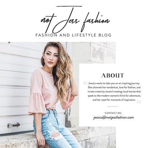 Fashion Blog Media Kit