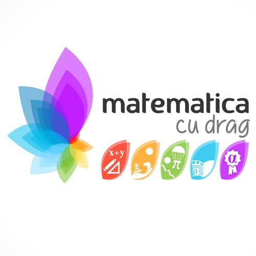 Help Matematica cu drag with a new logo