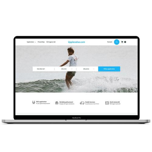 Upplevelse.com Web Design