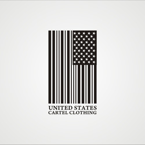 Create the next logo for united states cartel clothing