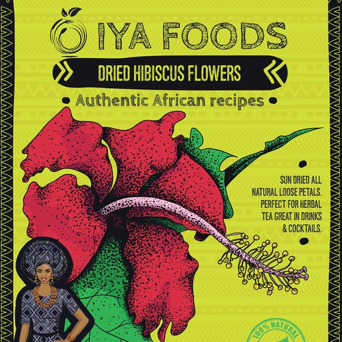 Packaging concept for Iya Foods