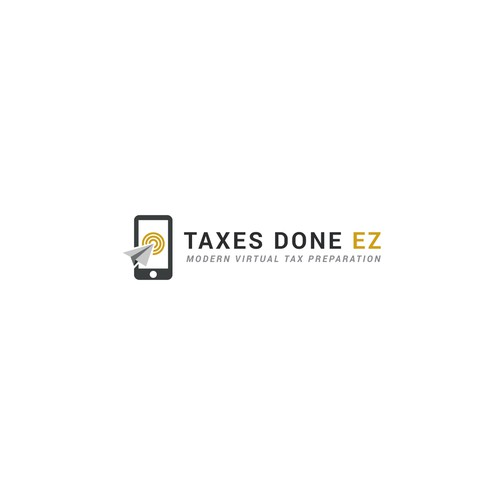 Paperless Tax Preparation Logo