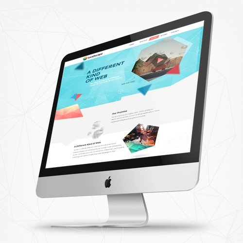 Create a Powerful Website for a Cutting-Edge Tech Company that will soon be all over the NEWS!