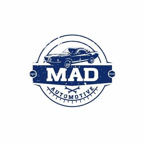 Retro Logo For MAD