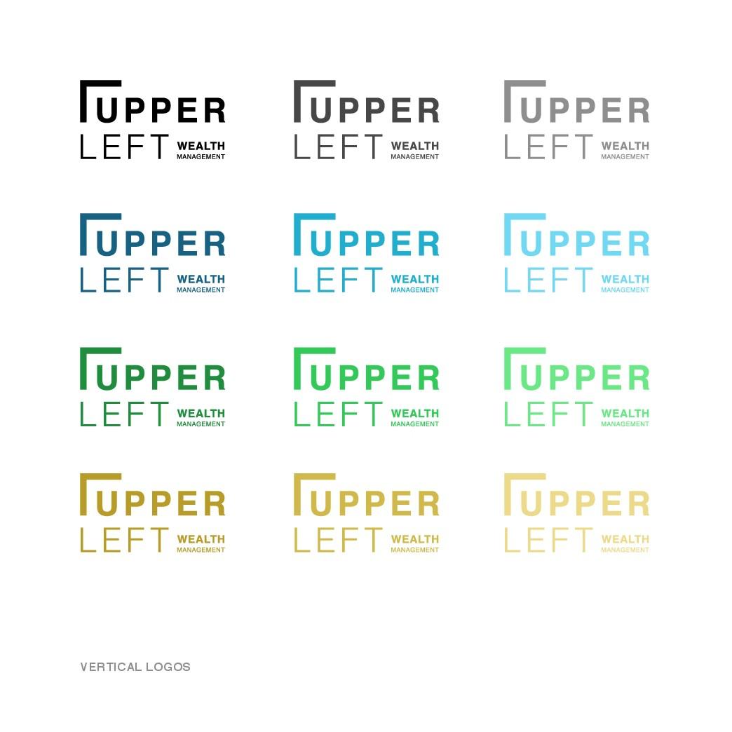 Upper Left Wealth Management needs a kick ass logo.