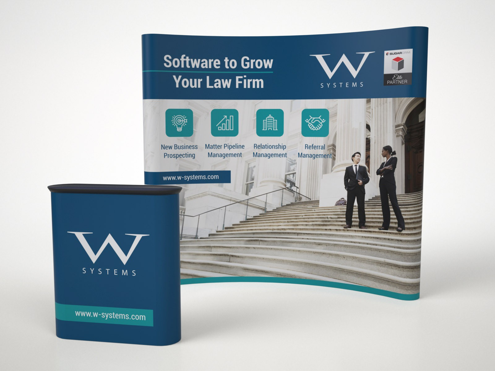 Tradeshow Booth Design for LegalTech NYC
