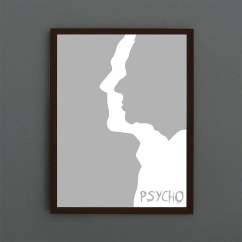 "Can you take a stab at a suitably scary ""Psycho"" poster?"