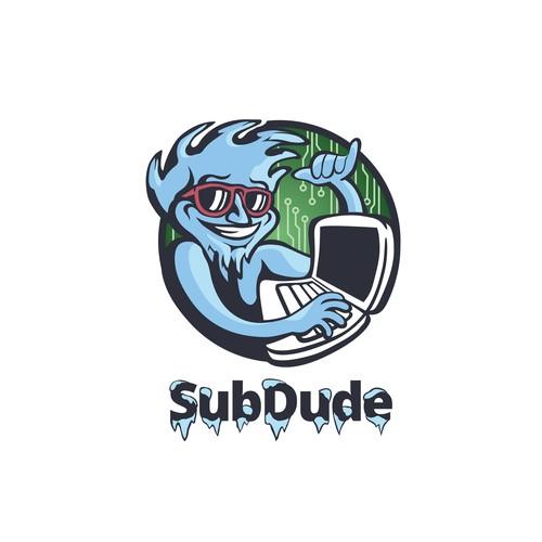 Subdude Mascot/Logo