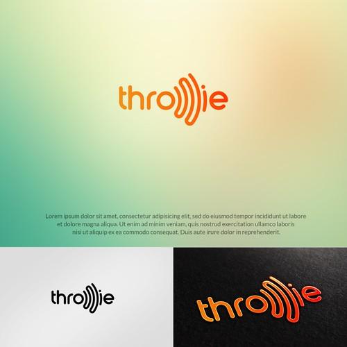 throwie logo concept