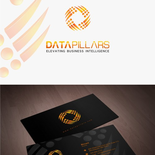 New logo and business card wanted for DataPillars