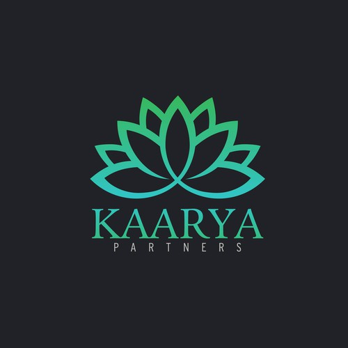 Kaarya logo design concept.