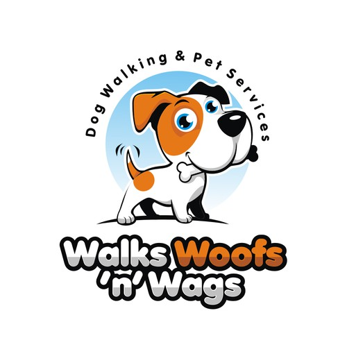 Dog Walking Business logo