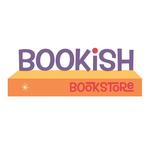 "Logo needed for awesome little bookstore, ""Bookish"""