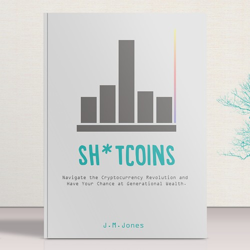 Bold cover for a crypto currency book