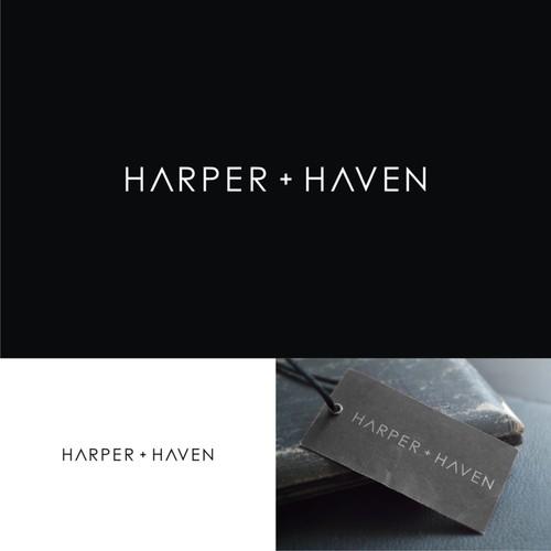 minimalist logo for  Harper & Haven