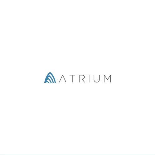 Minimal logo concept for AI consulting firm