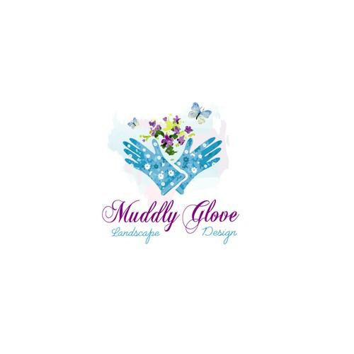 Bold logo for glaves concept