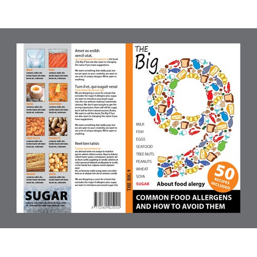 Book Cover for food allergy book