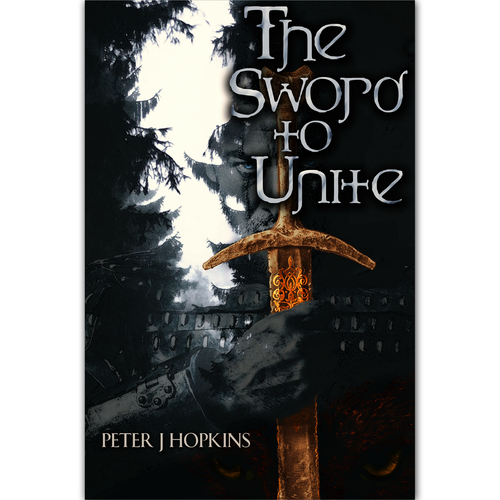 cover design for a fantasy epic