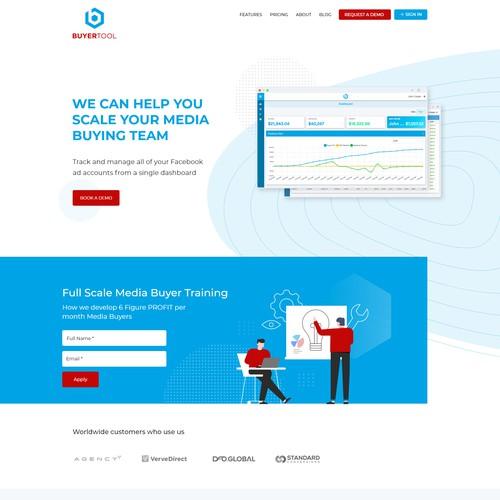 Company Website redesign