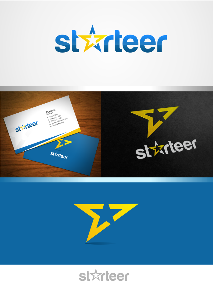 Design a great logo for starteer