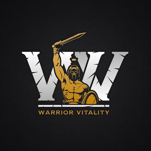 Logo for Warrior Vitality