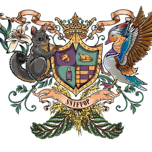 Engagement Coat of Arms