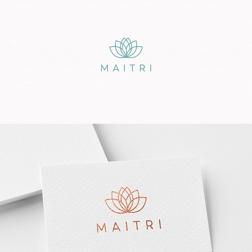 Logo design for a mindfulness community