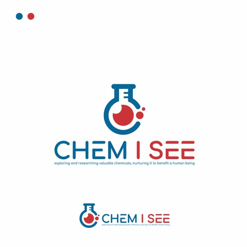 CHEM I SEE Logo Design