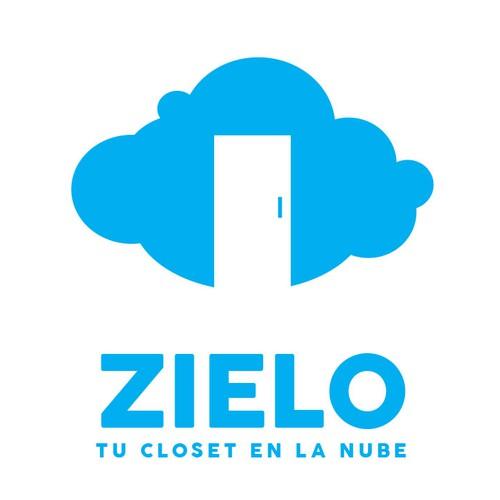 """Crea un logotipo para una Start-Up de almacenaje en México, ZIELO. """"Tu closet en la nube."""""""