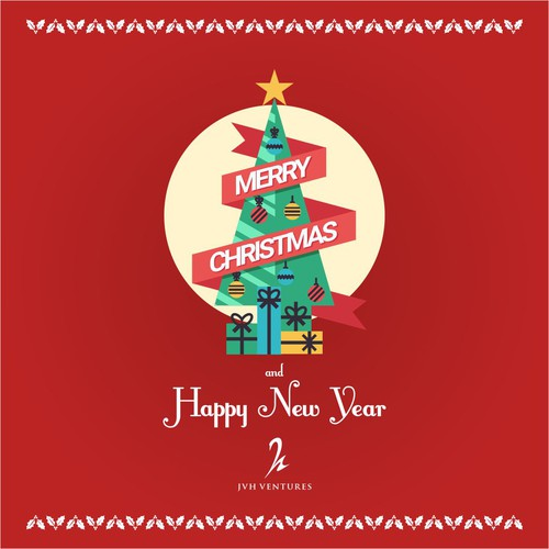 Minimalist Christmas Greeting Card