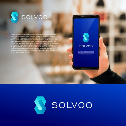 Unused Logo of Solvoo