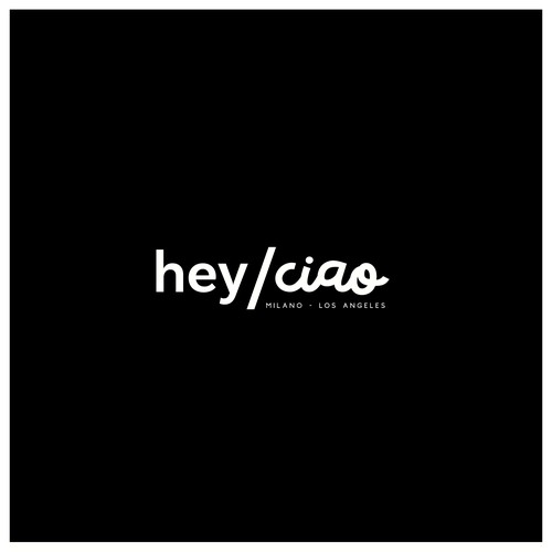 Logo Concept for hey/ciao
