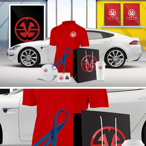 Design the Tesla World logo #Tesla @TeslaClubBE