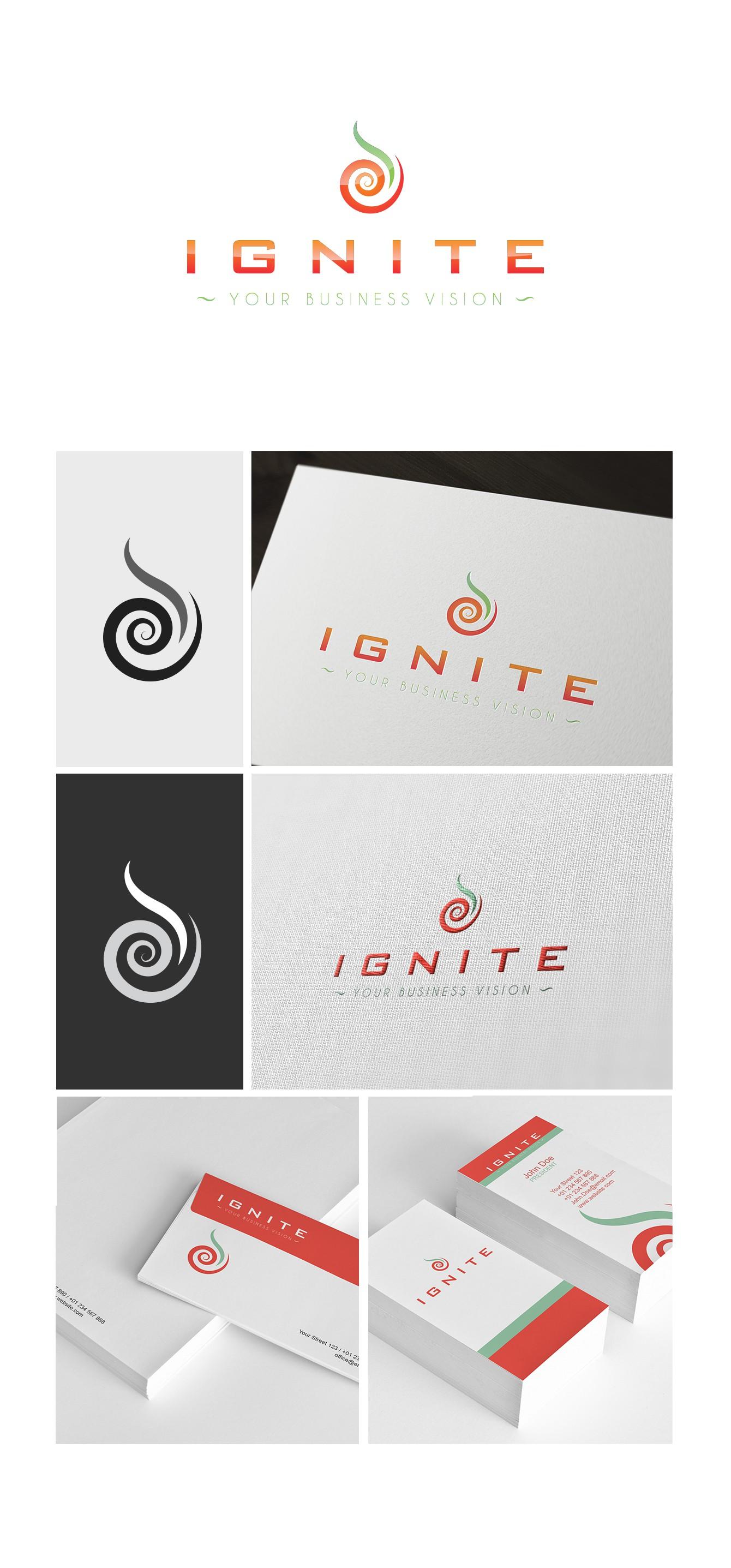 logo for Ignite Your Buisness Vision
