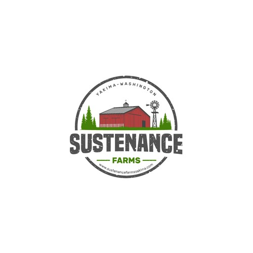 SUSTENANCE FARMS logo