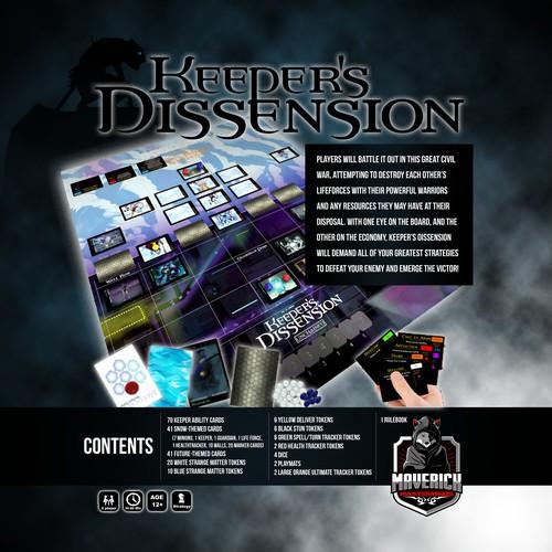 Board Game Box Design