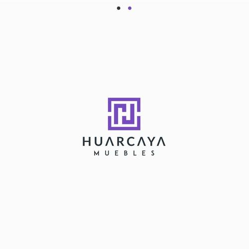 Luxury logo for Huarcaya Muebles