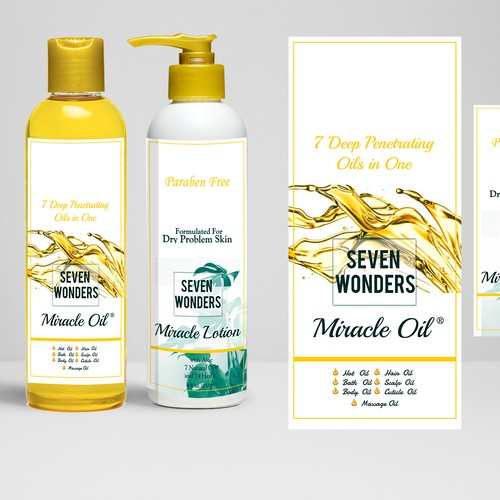 Miracle oil for body care