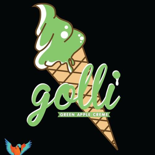 Vape Oil Logo Design