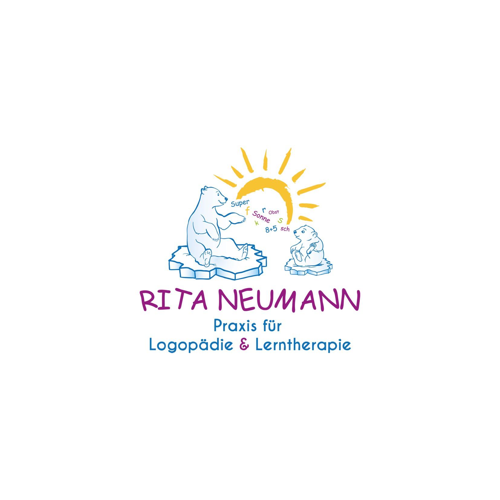 Freundliches Logo für Logopädin und Lerntherapeutin