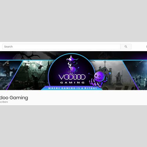 VOODOO Gaming Banner
