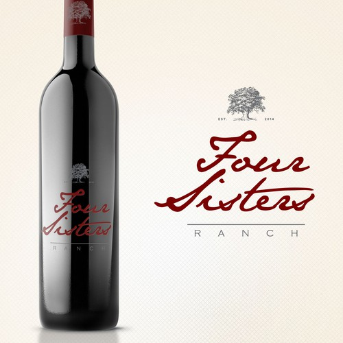Create an eye-catching new logo for a high-end winery in California!