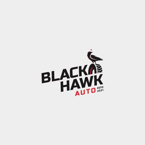 Blackhawk Auto Logo