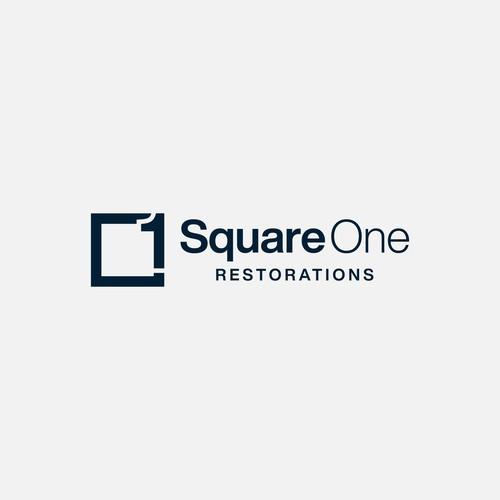 Square One Logo Design