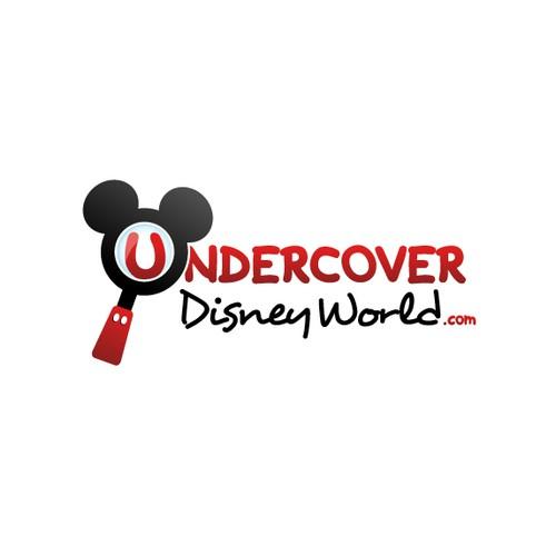 Undercover Disney World - Logo Design